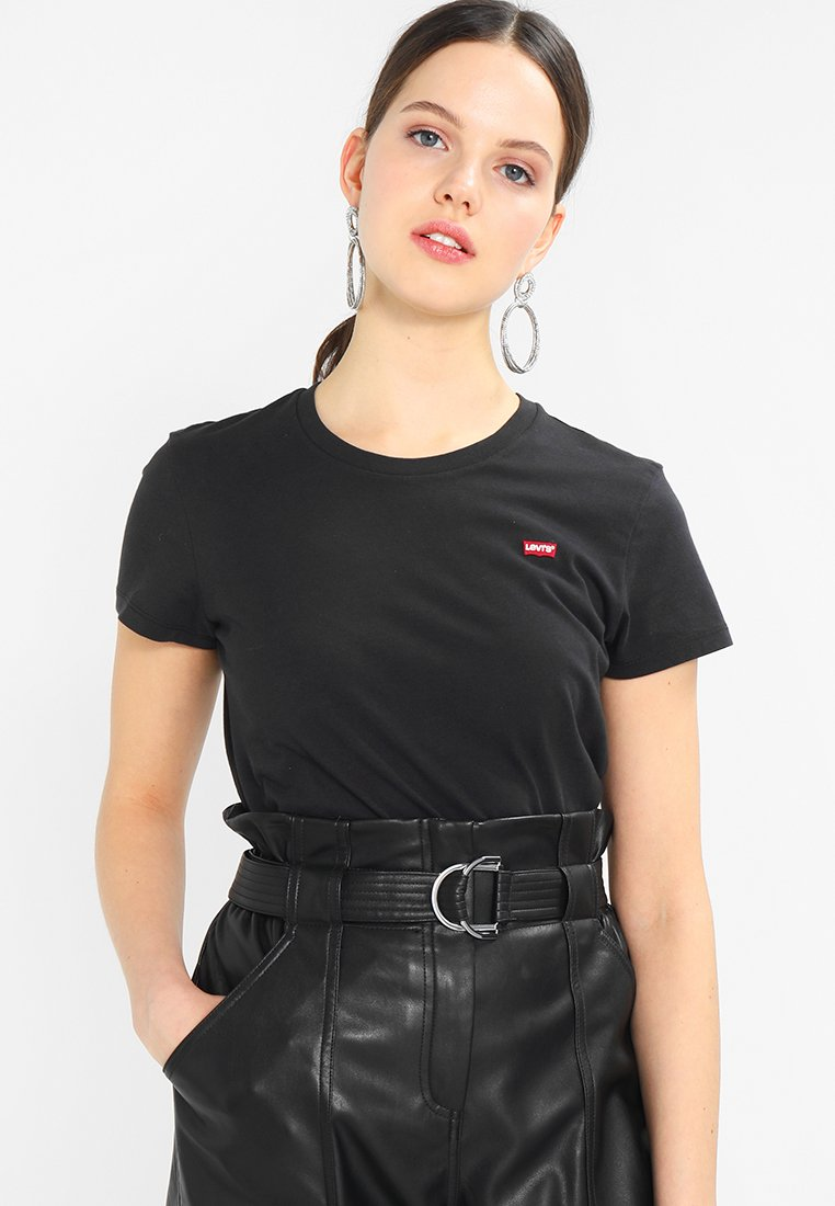 Levi's® - PERFECT TEE - T-shirt - bas - black
