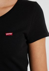Levi's® - TEE 2 PACK - T-shirt - bas - white/mineral black - 6