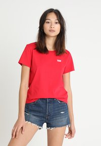 Levi's® - 501 GRAPHIC SURF TEE - T-shirts med print - lychee - 0