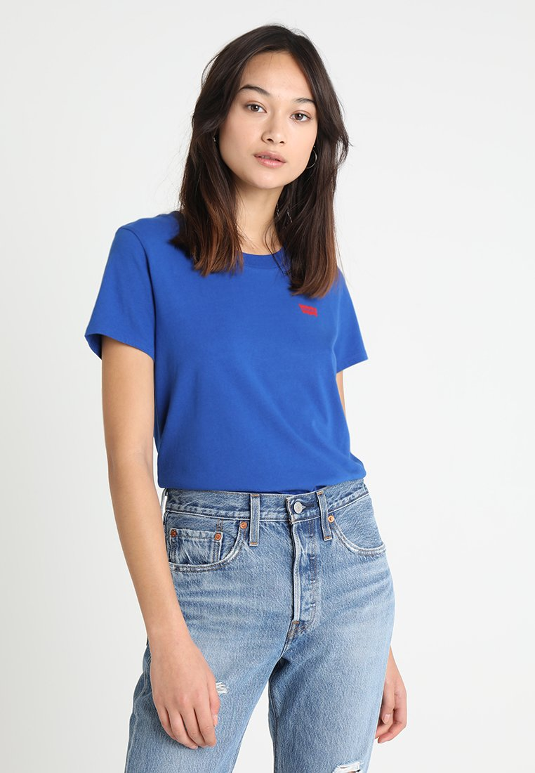 Levi's® - 501 GRAPHIC SURF TEE - T-Shirt print - surf blue