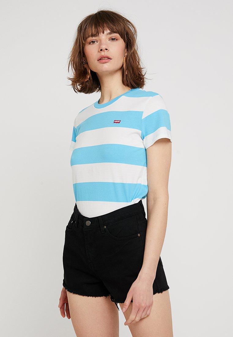 Levi's® - PERFECT TEE - T-Shirt print - london calling swim blue