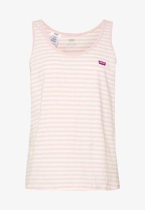 BOBBI TANK - Topper - raita stripe peach blush