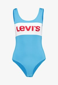 Levi's® - COLORBLOCK BODYSUIT - Top - swim blue/white