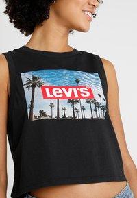 Levi's® - GRAPHIC CROP TANK - Top - caviar - 4