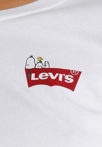 Levi's® - LEVI'S® X PEANUTS THE PERFECT TEE - Triko s potiskem - white - 5
