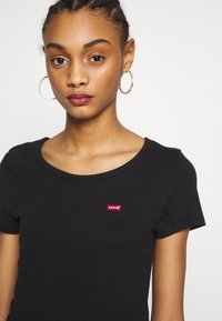 Levi's® - TEE 2 PACK - T-shirts - mineral black/mineral black - 4