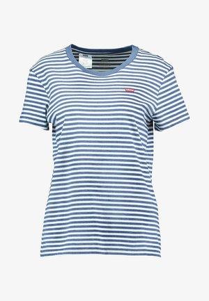 PERFECT TEE - T-Shirt print - raita indigo