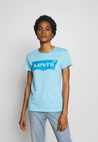 Levi's® - THE PERFECT TEE - T-shirt imprimé - baltic sea - 0