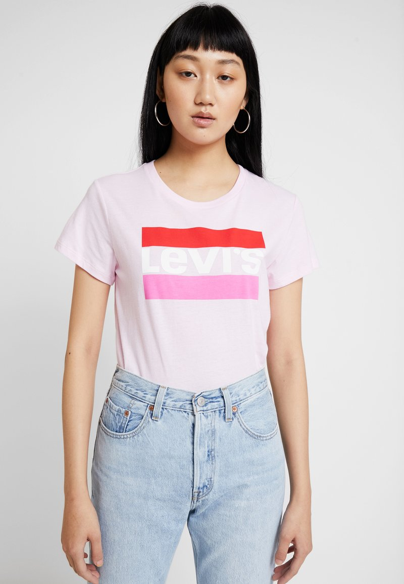 Levi's® - THE PERFECT TEE - Print T-shirt - pink lady