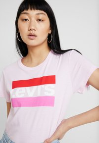 Levi's® - THE PERFECT TEE - Print T-shirt - pink lady - 3