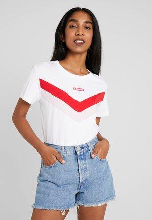 FLORENCE TEE - Camiseta estampada - white