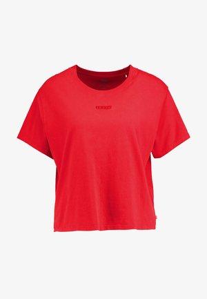 GRAPHIC VARSITY TEE - T-paita - tonal baby tab brilliant red