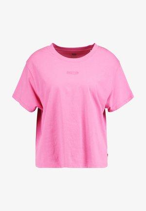 GRAPHIC VARSITY TEE - T-shirts - tonal baby tab phlox pink