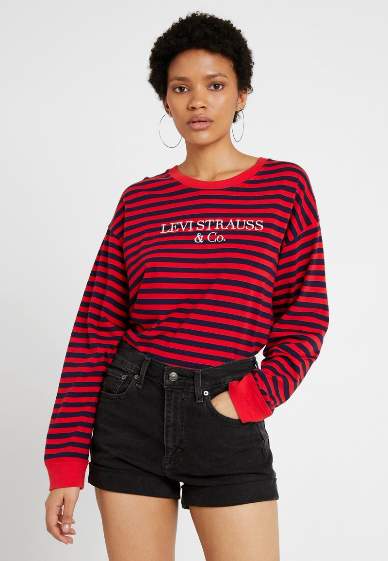 Levi's® - GRAPHIC LONG SLEEVE  - Langarmshirt - red