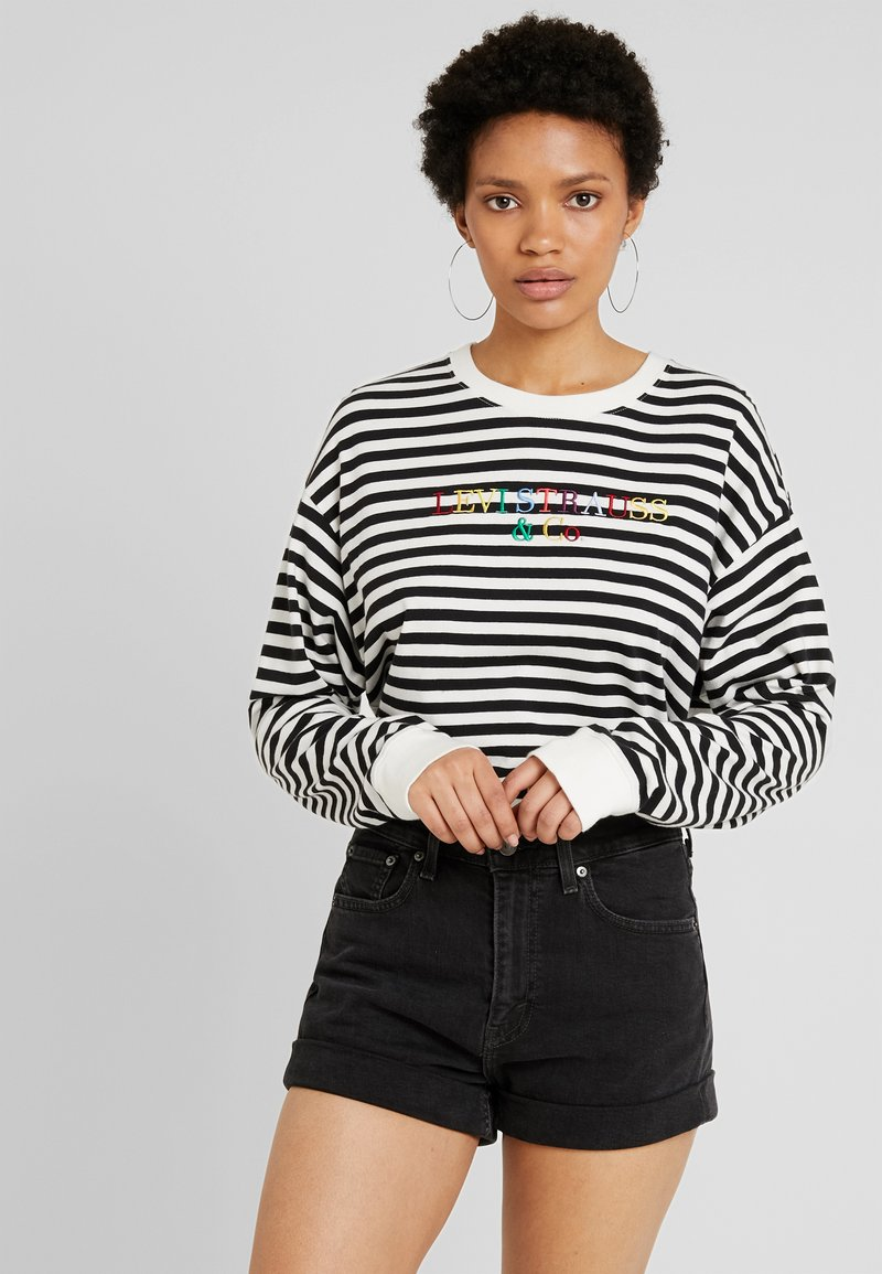 Levi's® - GRAPHIC LONG SLEEVE  - Langarmshirt - cloud dancer