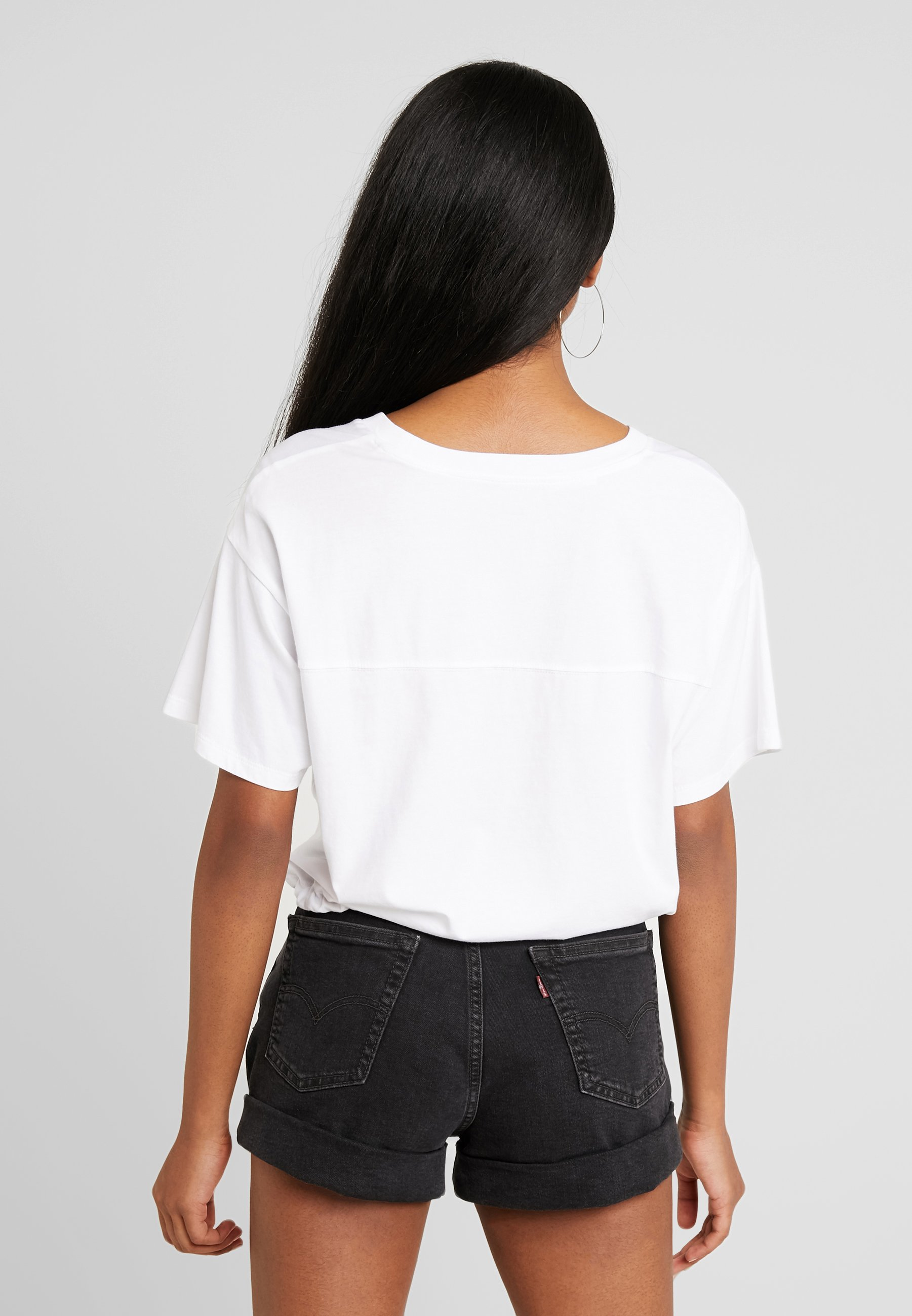 TEET imprimé Levix27;s® shirt DRAWSTRING white n0Pk8XONw