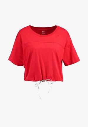 DRAWSTRING TEE - T-shirts print - brilliant red