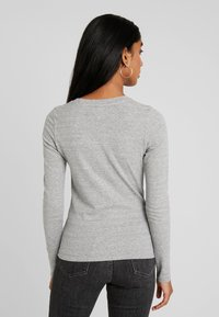Levi's® - BABY TEE - Long sleeved top - smokestack heather