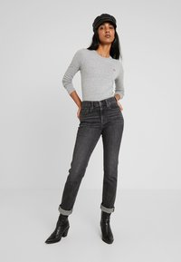 Levi's® - BABY TEE - Long sleeved top - smokestack heather - 1