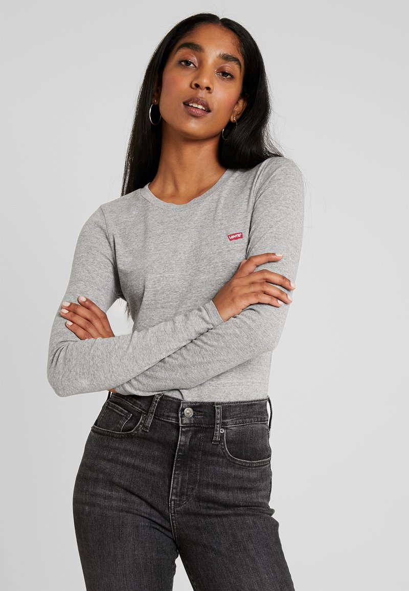 Levi's® - BABY TEE - Longsleeve - smokestack heather