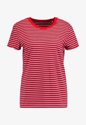 PERFECT TEE - Jednoduché triko - koronis brilliant red