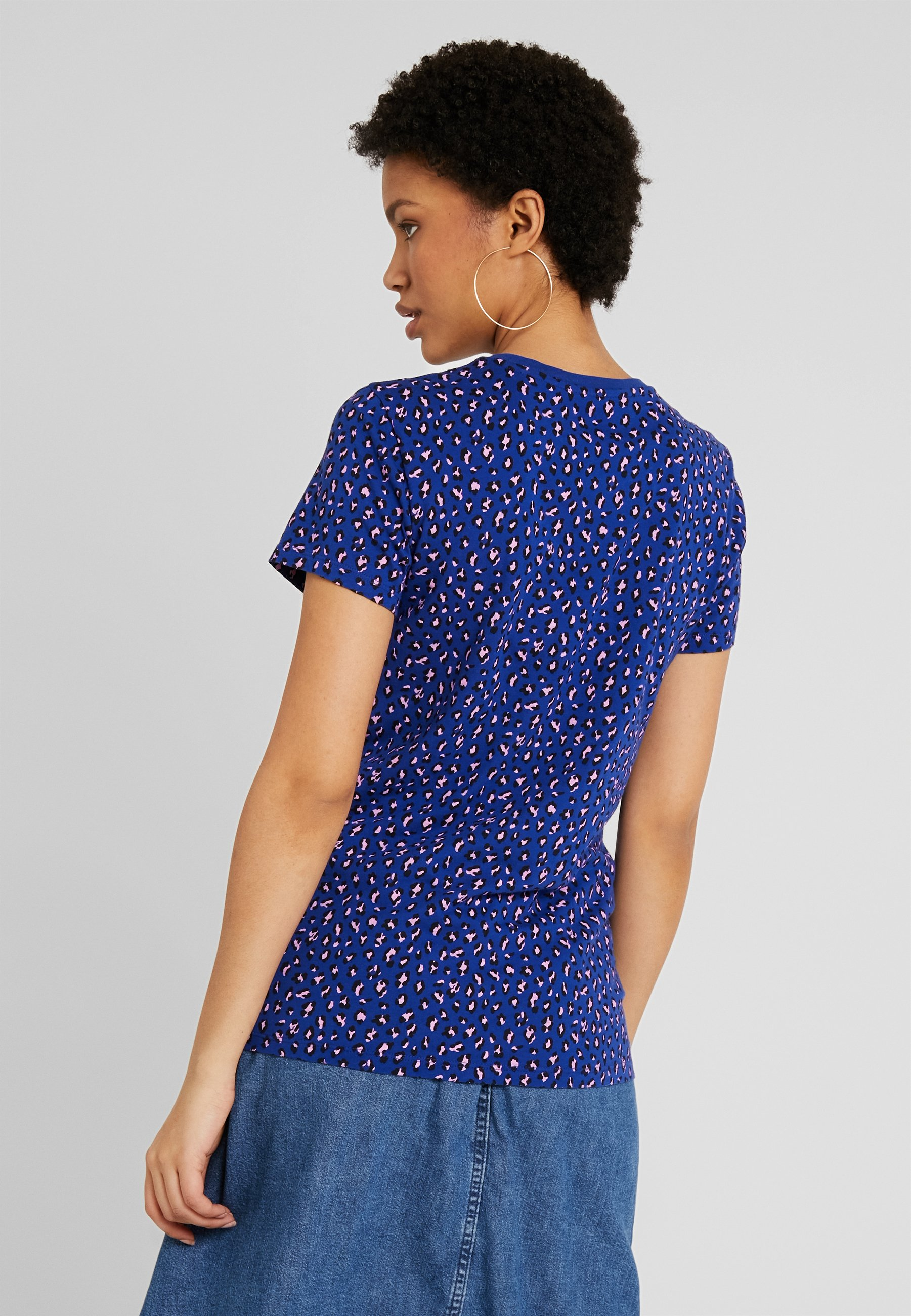 Levi's® THE PERFECT CREW - T-shirts med print - sodalite blue
