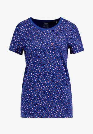 THE PERFECT CREW - Print T-shirt - sodalite blue