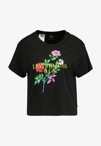 Levi's® - GRAPHIC VARSITY TEE - Print T-shirt - black - 4
