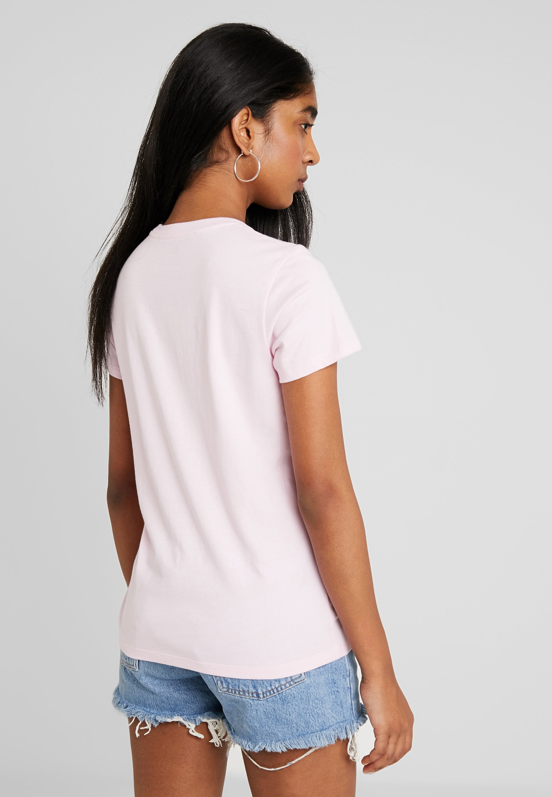 Flock Imprimé The Levi's® TeeT shirt Perfect Lady Pink LqSVUMGzp