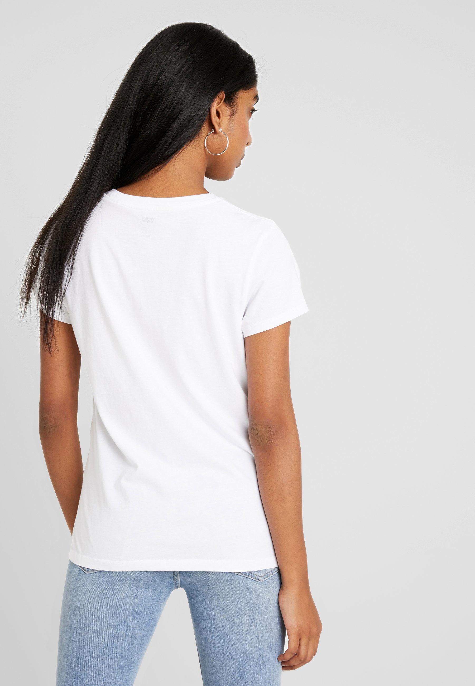 Perfect The Levi's® white Pink TeeT shirt Imprimé eodCxrB