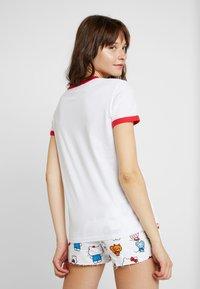 Levi's® - LEVI'S® X HELLO-KITTY  PERFECT RINGER TEE - T-shirts print - perfect white - 2