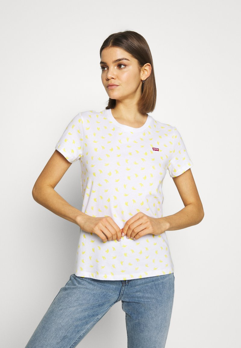 Levi's® - PERFECT TEE - T-shirt z nadrukiem - yellow