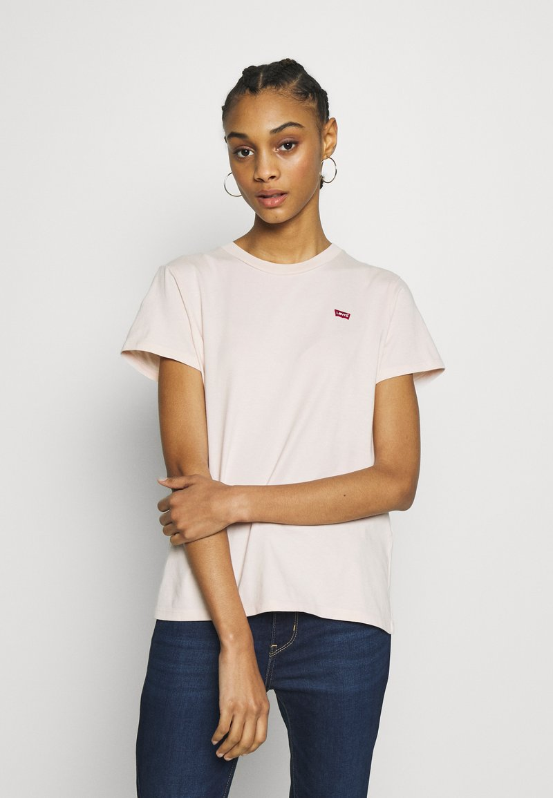 Levi's® - PERFECT TEE - T-shirt con stampa - peach blush