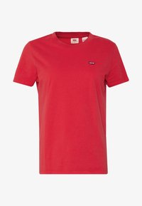 Levi's® - PERFECT TEE - T-shirt z nadrukiem - tomato - 3