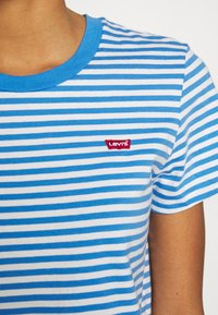 Levi's® - PERFECT TEE - T-shirts med print - raita marina - 4