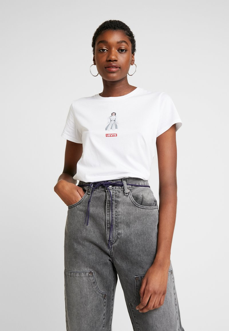 Levi's® - STAR WARS THE PERFECT TEE - T-shirts med print - white