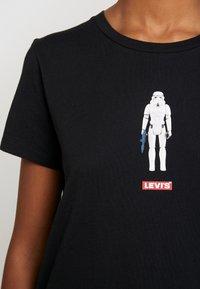 Levi's® - STAR WARS THE PERFECT TEE - Camiseta estampada - stormtrooper black - 5