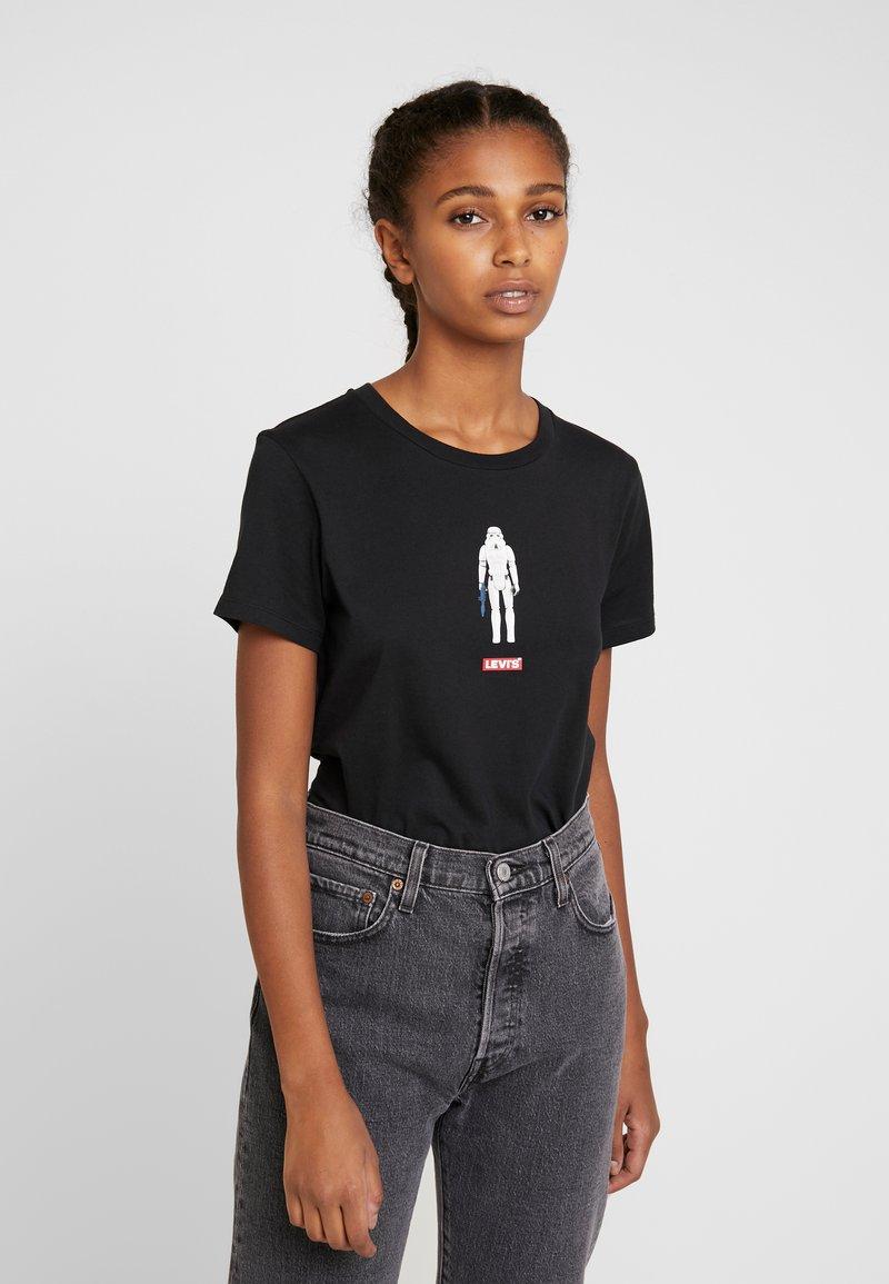 Levi's® - STAR WARS THE PERFECT TEE - Camiseta estampada - stormtrooper black