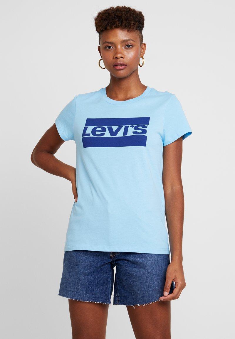 Levi's® - THE PERFECT TEE LOGO BALTIC SEA - Print T-shirt - blue
