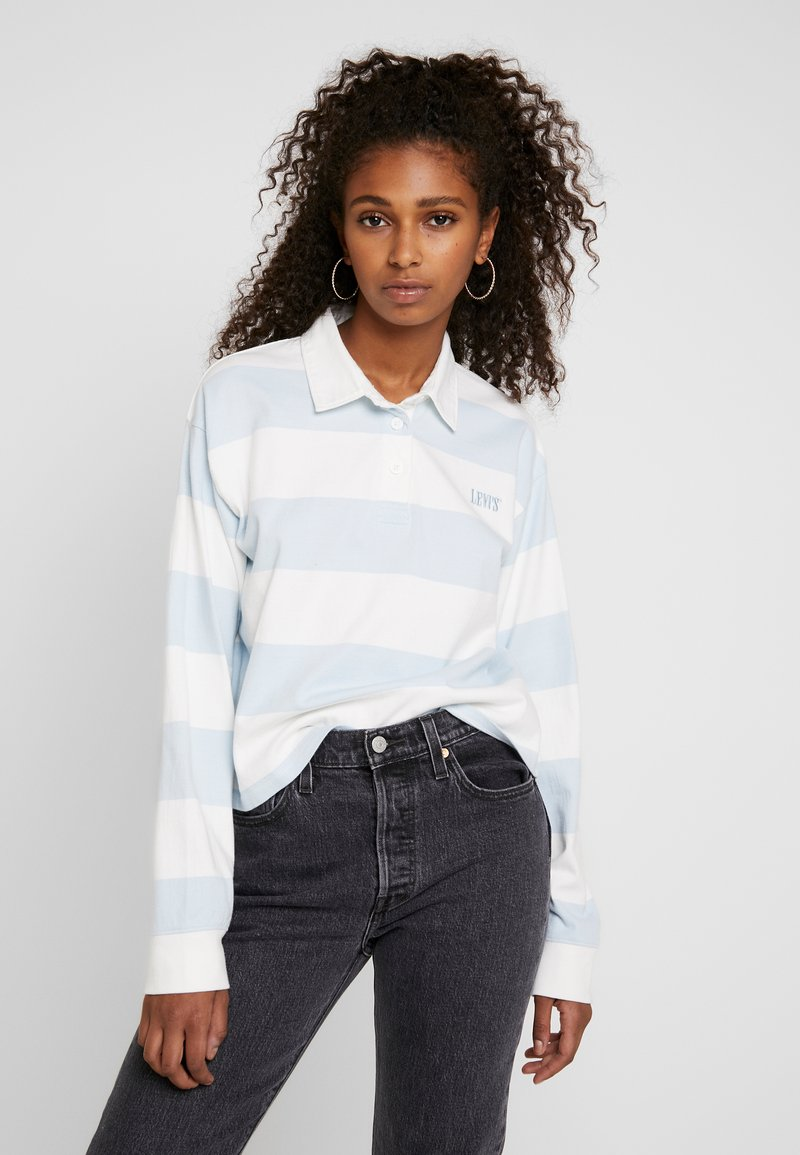 Levi's® - LETTERMAN RUGBY - T-shirt à manches longues - amy baby blue