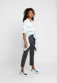 Levi's® - LETTERMAN RUGBY - T-shirt à manches longues - amy baby blue - 1