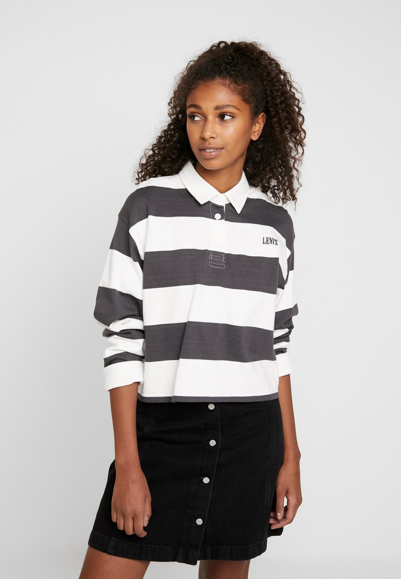 Levi's® - LETTERMAN RUGBY - Long sleeved top - forged iron