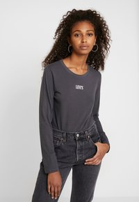 Levi's® - GRAPHIC BODYSUIT - Long sleeved top - forged iron - 0
