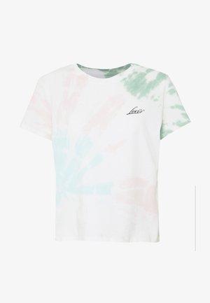 GRAPHIC SURF TEE - Print T-shirt - tie dye