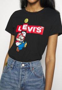 Levi's® - Levi's® x Super Mario - T-shirt print - black - 4