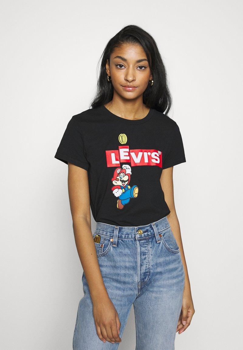 Levi's® - Levi's® x Super Mario - T-shirt print - black