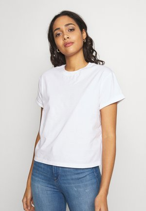 VERONICA TEE - Print T-shirt - white