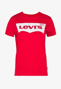 Levi's® - THE PERFECT TEE - T-shirt con stampa - tomato - 3