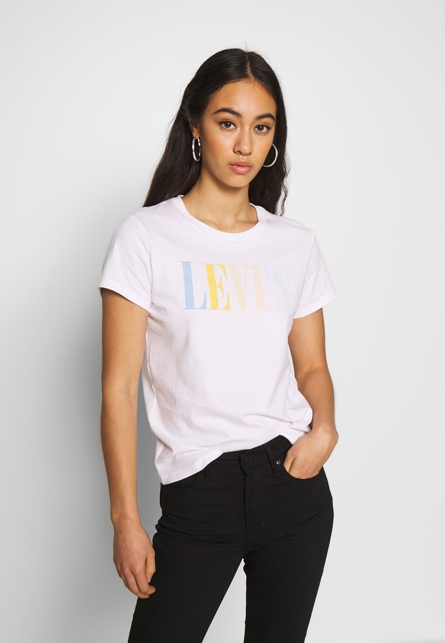 THE PERFECT TEE - T-shirt med print - white