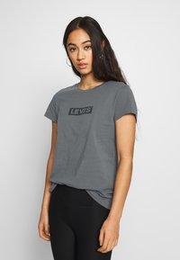 Levi's® - THE PERFECT TEE - T-shirt imprimé - box tab forged iron - 0